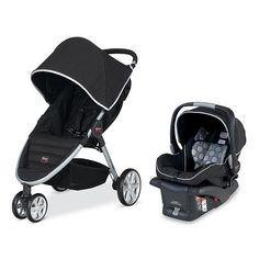 """Britax B-Agile Travel System Stroller - Black - Britax - Babies """"R"""" Us"""