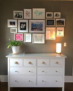 Office: Ikea Hemnes eight drawer dresser hack