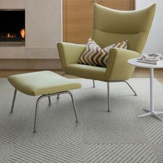 Flor Tiles And Awesome Mid Century Modern Chair Contemporary Area Rugs