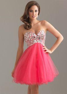 pink short prom dresses 2012 | Fashion Trendy bday dress