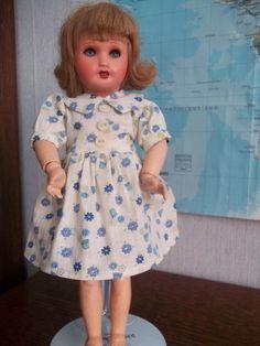 authentique robe Gautier Languereau pour bleuette 29cm 1942/46 | eBay