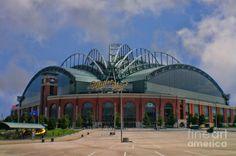 Milwaukee Brewers, Miller Park Arena - Milwaukee, WI - USA.