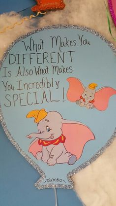 Dumbo quote Dumbo Quotes, Cute Disney Quotes, Baby Quotes, Cute Quotes, First Birthday Quotes, Disney Bulletin Boards, Best Mother Quotes, Dumbo Nursery, Dumbo Baby Shower