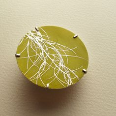 Winter Brooch   Contemporary Brooches by contemporary jewellery designer Sally Grant