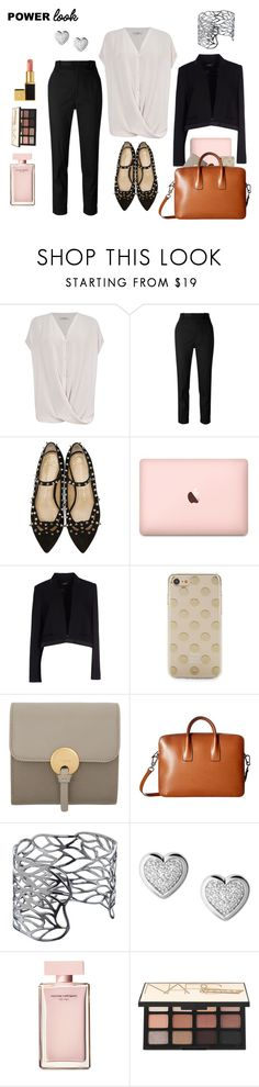 """""""Power Look"""" by clairemjc ❤ liked on Polyvore featuring AllSaints, Étoile Isabel Marant, Charlotte Olympia, Isabel Marant, Kate Spade, Chloé, Lodis, John Lewis, Links of London and Narciso Rodriguez"""