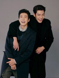 Lee Hyun Woo and Kim Woo Bin of The Technicians