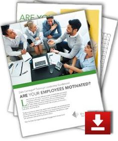 How to Motivate Employees - Free Assessment: Are your Employees Motivated? Employee motivation,motivation