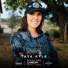 The spirit & strength of America. See the unheard story of #TayaKyle, wife of sniper #ChrisKyle. Watch FREE only on #CarbonTV.com!