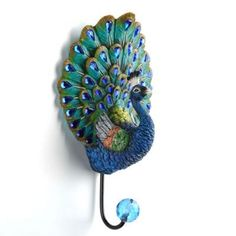 Peacock Wall Hook | Kirkland's