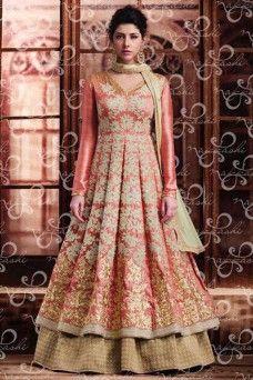 http://www.gebastore.com/salwar-kameez/collections/nakkashi-encore/peach-silk-fabric-designer-embroidered-party-wear-indo-western-suit-nakkashi-encore-11050.html  #bridalwear #shadiseason #Brideswear #womenfashion #ethnicwear #sarees #anarkalis #heavyembroideredcollection #formal #indianbridaloutfits  #gown #Indianbrides #Pakistanibrides #Straightsuits #Latestdesignersuits #Suits #dresses #onlidress #suitsmaterial #Pakistanisuits #goldsuits #shalwar #kameez