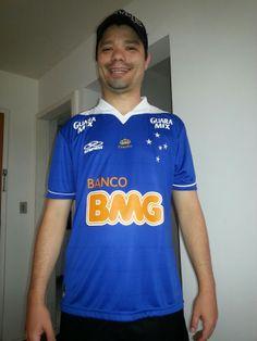 358a0651ad Camisa Cruzeiro Esporte Clube 2013 - Tri Campeão Brasileiro