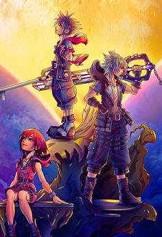 Kingdom Hearts Worlds, Disney Kingdom Hearts, Disney Magic Kingdom, Terra Kingdom Hearts, Kingdom Hearts Wallpaper, Kingdom Hearts Fanart, Kindom Hearts, Video Game Art, Video Games