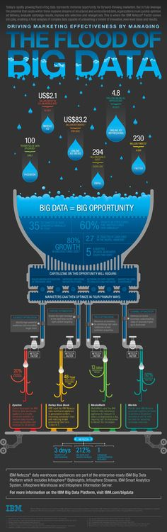 Driving Marketing Effectiveness by Managing The Flood of Big Data