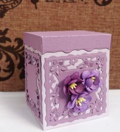 DipsDesigns: Sneak Peek - Tonic Studios Deck The Halls Sentiment Die Set Tissue Box Holder, Tissue Boxes, Paper Boxes, Card Making Tutorials, Craft Tutorials, Tonic Cards, Victorian Christmas Ornaments, Boxes And Bows, Studio Cards
