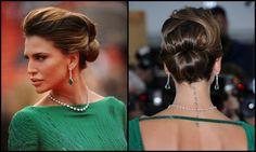 L'acconciatura di Claudia Galanti sul red carpet del Festival di Cannes, il 15 maggio 2013 | makeupandhair by Elisa Rampi