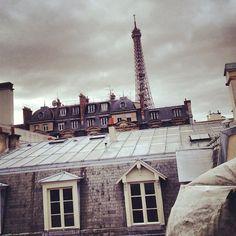 Paris roof tops(Caroline de Maigret)