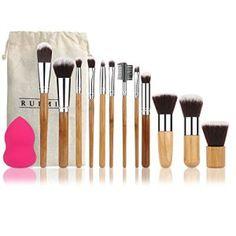 RUIMIO Pinceau… http://123promos.fr/boutique/beaute-et-parfum/ruimio-pinceau-maquillage-set-poignee-bambou-1-gourd-puff-avec-sac-12-pcs/