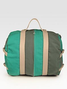 Marc by Marc Jacobs Flasher Stripes Backpack