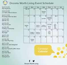 ACPR Dream Team Launches Website and Event Schedule Raising $25,000 for LiveWorkPlay   LiveWorkPlay Dream Team, Raising, Schedule, Product Launch, Website, Timeline