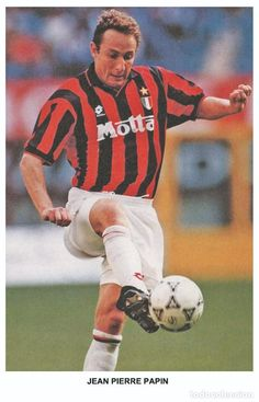 Jean Pierre Papin, France, Ac Milan, Photo Postcards, Soccer, Football, Gypsy, Legends, Studio