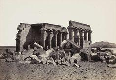 Le temple de Maharraqa, Nubie, v. 1856-1860, tiré avant 1862 | Photographe : Francis Frith