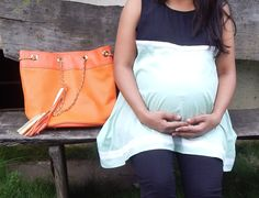 Maternity Outfit of the Month - 9th Month Pregnancy style diaries Getting through my last month of pregnancy was pretty difficult for me, for one I was getting