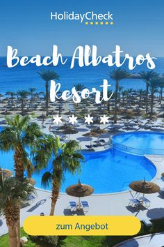 Erlebe deinen Ägypten-Traum in diesem Bestseller-Hotel, Beach Albatros Resort. In diesem 5-Sterne-Hotel finden Badeurlauber und Familien alles was das Herz begehrt. Das Familienhotel liegt direkt am Strand, bietet besten Service, tolles Essen und ein umfangreiches Freizeitangebot. Beachvolleyball, Kidsclub und Water Polo. Hier steht deinem All Inclusive Urlaub nichts mehr im Wege und 96%ige Weiterempfehlung spricht für sich.  #ägypten #bestseller #holidaycheck All Inclusive Urlaub, Hotels, Strand, Best Sellers, Polo, Movies, Movie Posters, Red Sea, Winter Vacations