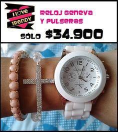 Reloj Geneva  Solo en  www.ilovetrendy.co