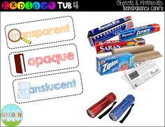 Here are some more Explore Tub ideas! Explore Tubs are my idea of early finisher tubs in Science class for when students finish their Intera...