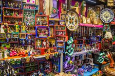 If you're into the bohemian vibe, you must visit Coyoacán, in Mexico City. Its bazaars, museums and restaurants will make you fall in love with our culture.