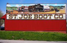 ST. JOE BOOT ~ Saint Joseph, Missouri USA ~ Copyright ©2012 Bob Travaglione ~ FoToEdge Images ~ www.FoToEdge.com