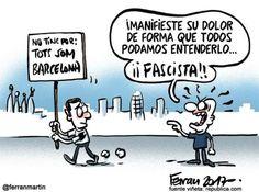 Fascista! #Viñeta #Humor