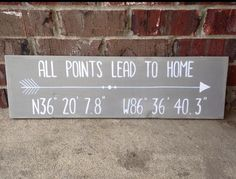 All points lead to home by PocketfulofSawdust on Etsy