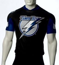 06486d034 NHL Tampa Bay Lightning Mens Cycling Jersey Black XSmall     To view  further for