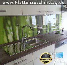 küchenspiegel mit fototapete | küche renovieren | selbst.de | neue ... - Küchenspiegel Mit Fototapete