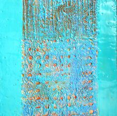 Encaustics and mixed media. Karen Harris