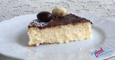 "Ľahký a osviežujúci kokosový ""bounty"" koláčik bez múky - FitCool. Vanilla Cake, Cheesecake, Fit, Desserts, Tailgate Desserts, Deserts, Shape, Cheesecakes, Postres"