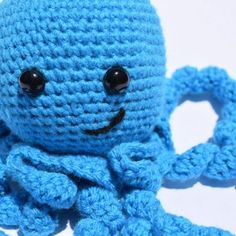 crochet octopus - free pattern