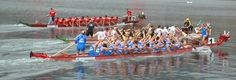 Paddling a dragonboat is very different to paddling a canoe, kayak or surfski.