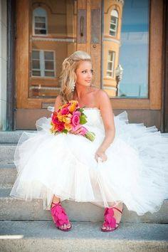 Honeymoonshopping: Trendspotting: de gekleurde schoen!
