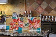 Countertop Kitchen Utensil Storage  Triple by CreativeWomanhood