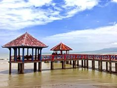 Tourist attraction Dampo Awang beach in Rembang