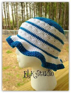 Southern Comfort - A Free Summer Hat Designed for the Crochet For Cancer Organization