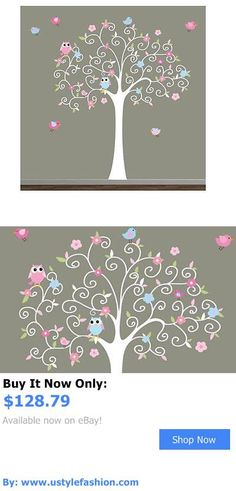 Wall Decals And Vinyl Art: Tree Room Vinyl Wall Decal Removable Home Art Mural Stickers BUY IT NOW ONLY: $128.79 #ustylefashionWallDecalsAndVinylArt OR #ustylefashion