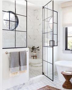 Budget Bathroom, Bathroom Inspo, Bathroom Inspiration, Bathroom Interior, Small Bathroom, Bathroom Ideas, Modern Bathroom, Bath Ideas, Bathroom Designs