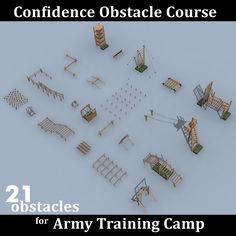 max confidence obstacle course - All For Garden Backyard Obstacle Course, Kids Obstacle Course, Backyard Camping, Backyard For Kids, Backyard Play, Backyard Ideas, Garden Ideas, Ninja Warrior Course, American Ninja Warrior