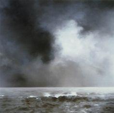 Gerhard Richter, la beauté voluptueuse de la mer et du ciel de nuit