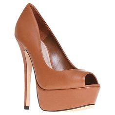 Buy Carvela Adjacent Stiletto Heel Platform Court Shoes Online at johnlewis.com, $88 plus shipping