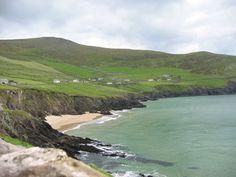 "Dingle Peninsula, Ireland. Some scenes in ""Ryan's Daughter"" filmed there."