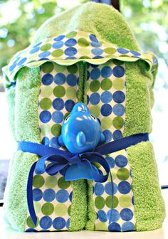 DIY Tutorial: Baby Stuff / Hooded towels - Bead&Cord